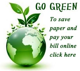 Go Green - Pay Your Bill Online